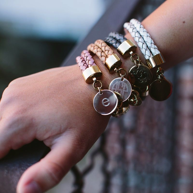 Bracelet Braided Leather Bracelet