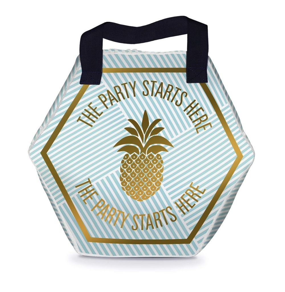 Tote Bag The Party Starts Here Tote Bag