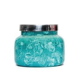 Capri Blue Volcano - Mint Watercolor Jar Candle