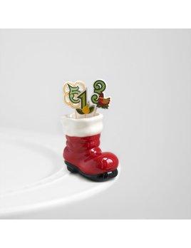 Minis Attachment Nora Fleming Minis - Santa's Boot
