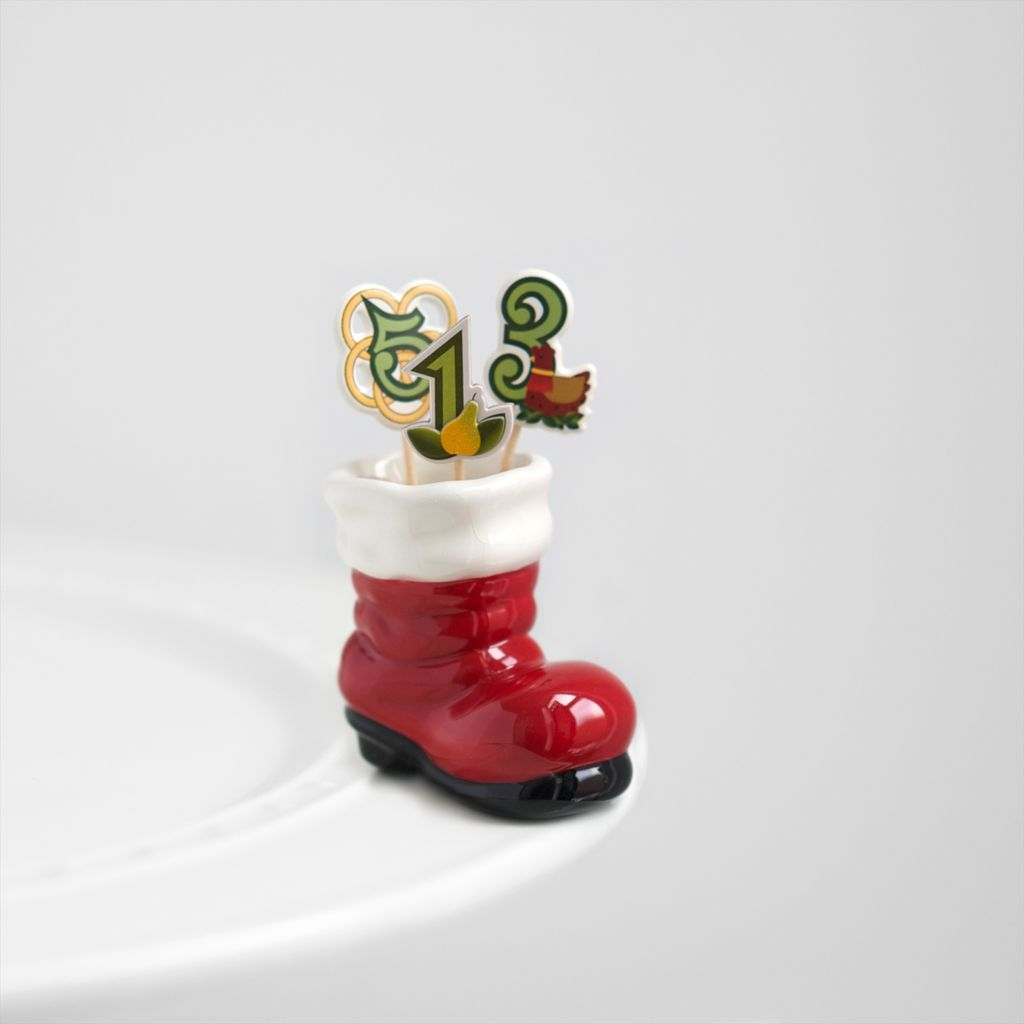 Minis Attachment Nora Fleming Minis - Santa's Boot