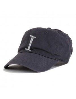Monogrammed Baseball Cap - Charcoal Gray