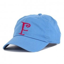 Monogrammed Baseball Cap - Blue