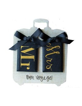 Luggage Tag Mr. & Mrs. Luggage Tag