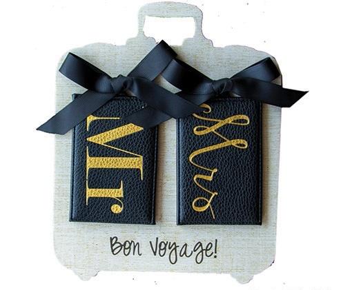 Luggage Tag Mr. & Mrs. Luggage Tag