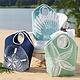 Aruba Shell Jute Tote Bag