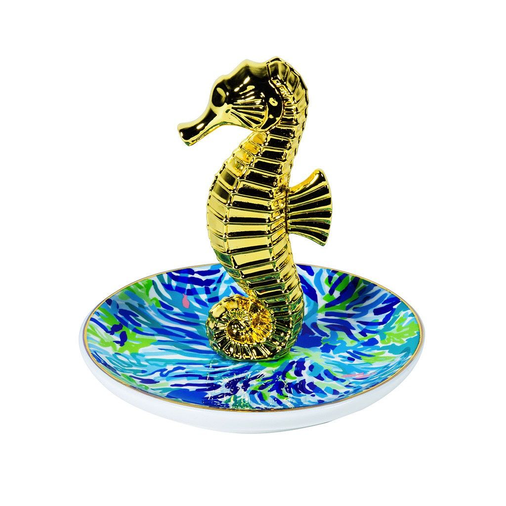 Ring Holder Lilly Pulitzer Ring Holder, Wade and Sea
