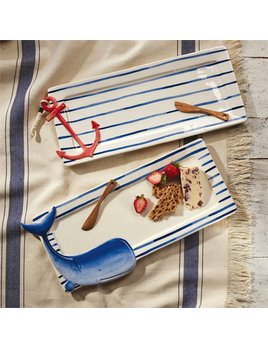 Tray Nautical Hostess Tray Set