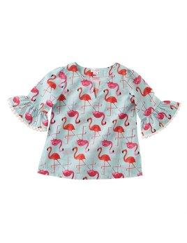 Mini Flamingo Cover-Up