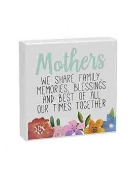 Sign Mothers Floral Box Sign