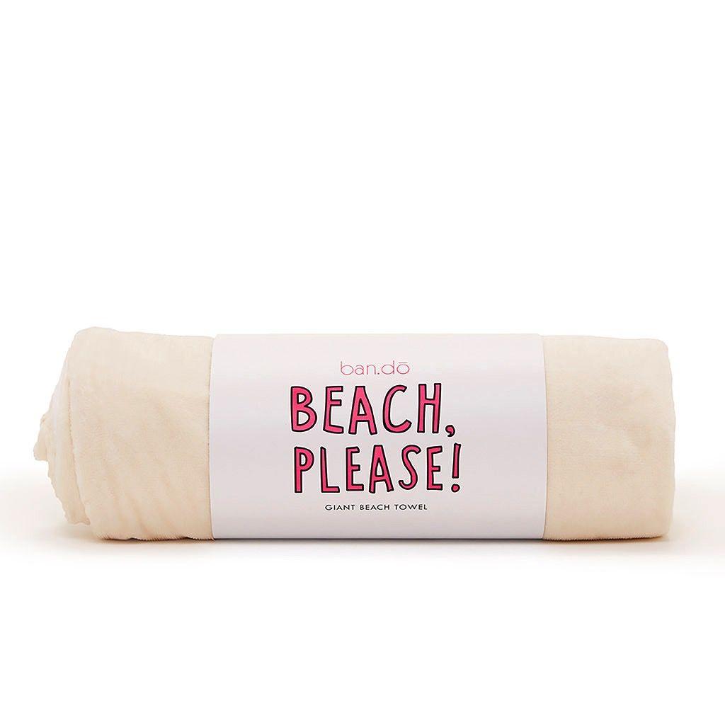 Towel ban.do Beach Please Giant Beach Towel- Pool Party