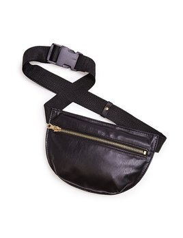 Pouch ban.do Swag Bag - Metallic Black