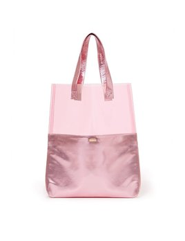 Tote Bag ban.do Peekaboo Tote Bag - Pink Shimmer