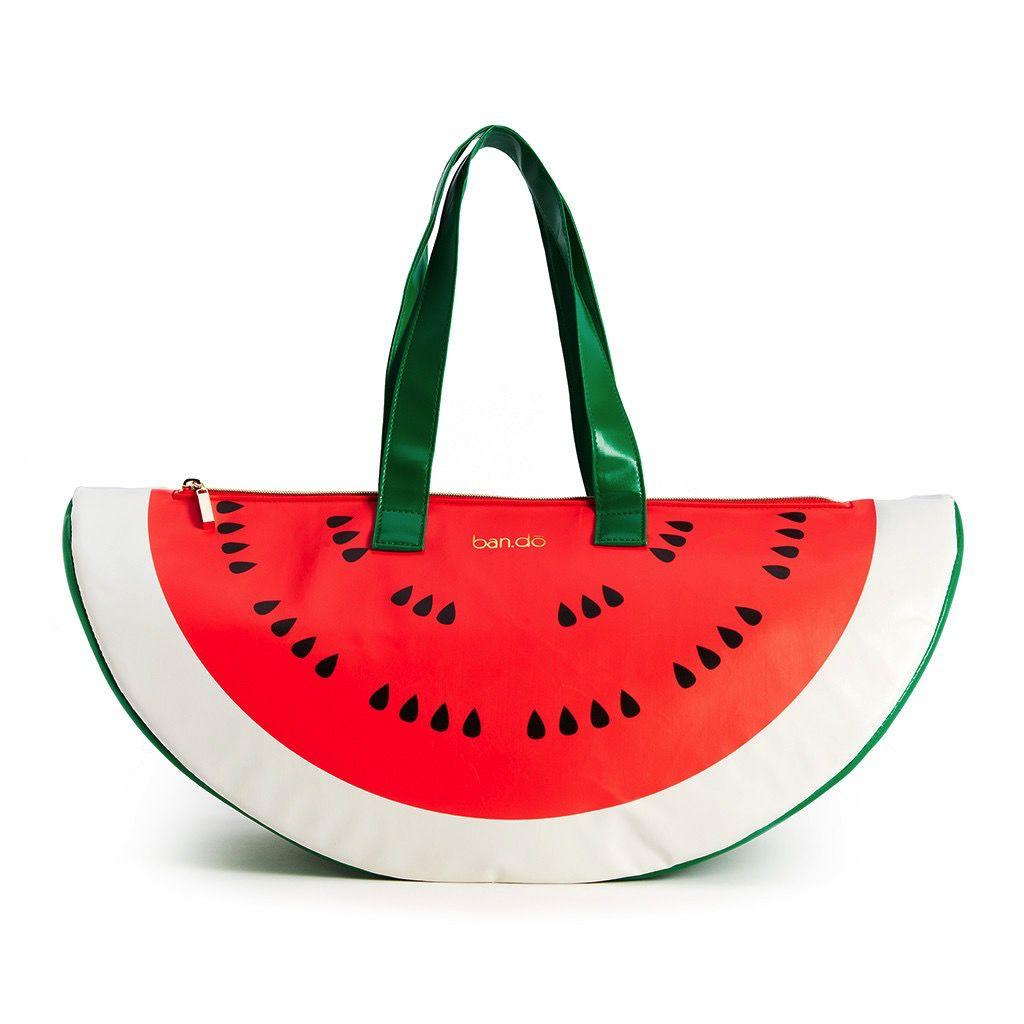 Cooler ban.do Super Chill Cooler Bag, Watermelon