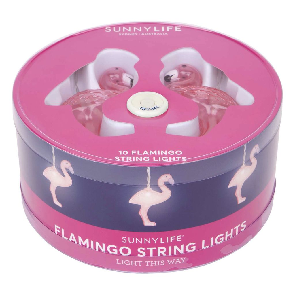 Lights Sunnylife Flamingo String Lights