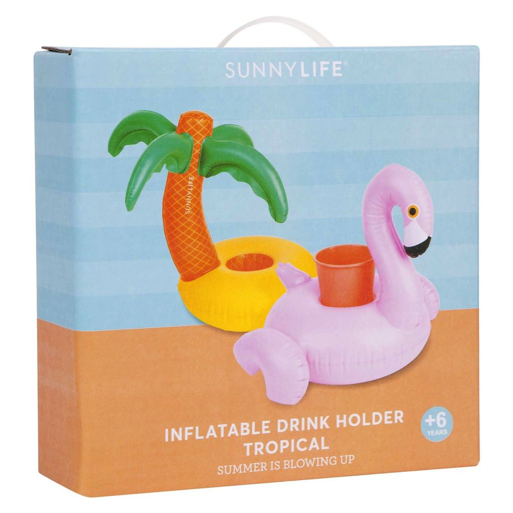 Sunnylife Inflatable Drink Holder - Tropical
