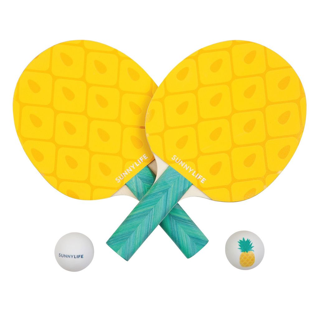 Sunnylife Pineapple Ping Pong Play On