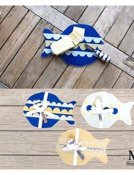 Cutting Board Fish Cutting Board with Spreader