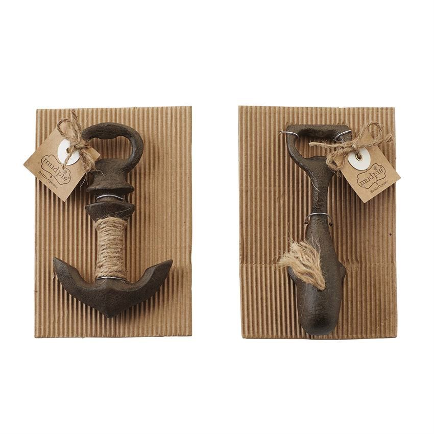 Whale & Anchor Bottle Openers