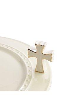 Minis Attachment Nora Fleming Minis - White Cross