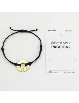 Bracelet Passion Gold/Black MyIntent Bracelet