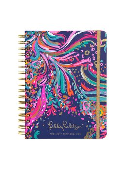 Lilly Pulitzer 17 Month Large Agenda - Beach Loot