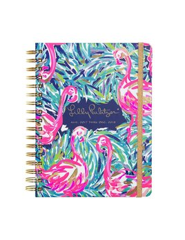Lilly Pulitzer 17 Month Large Agenda - Flamingo Beach