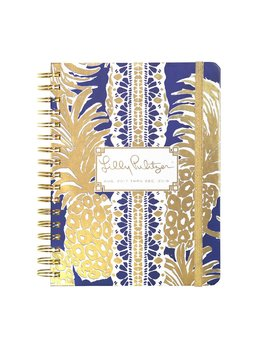 Lilly Pulitzer 17 Month Large Agenda - Flamenco Navy