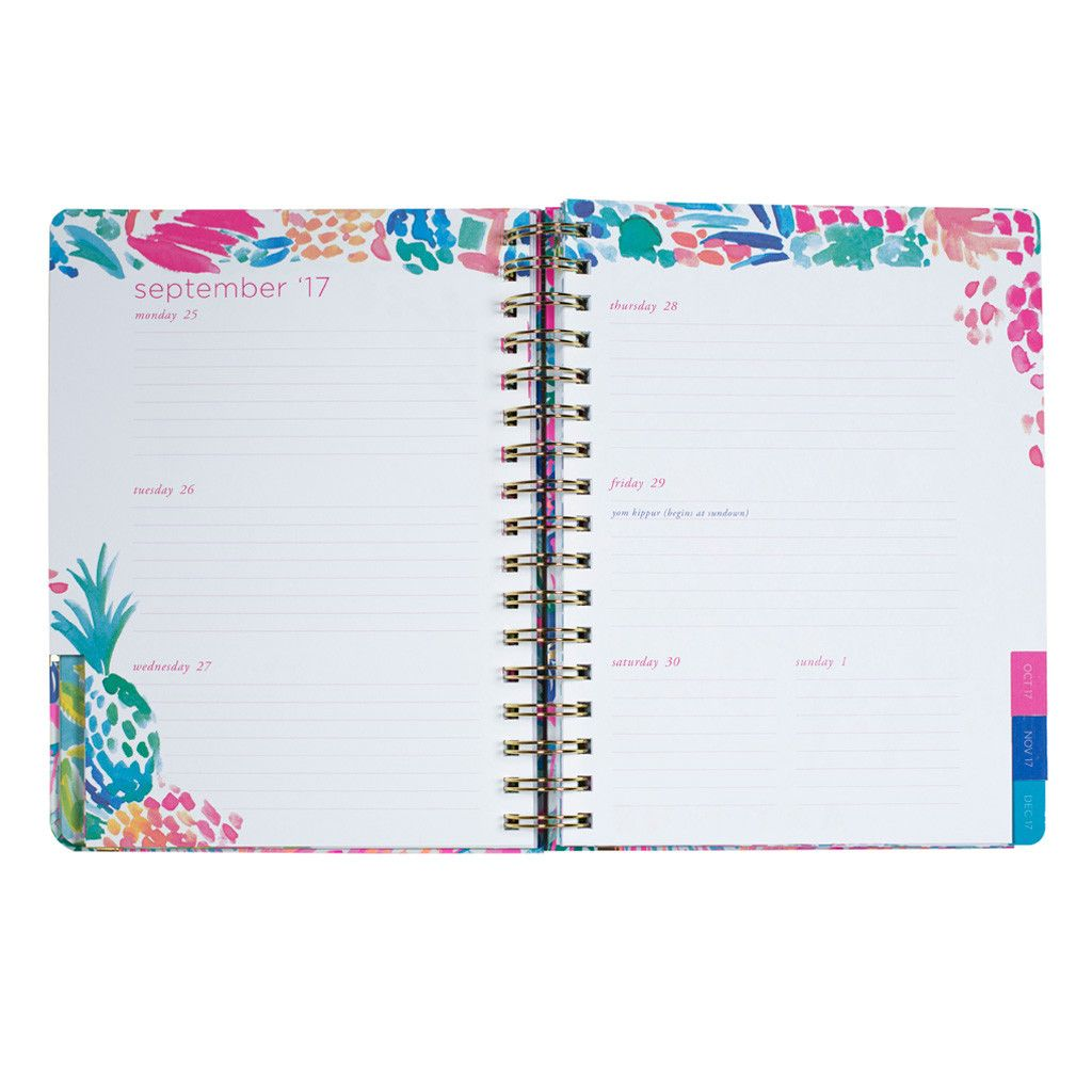 Lilly Pulitzer 17 Month Medium Agenda - Off the Grid
