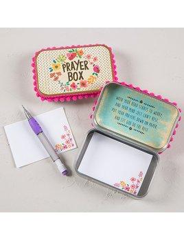 Pink Floral Prayer Box