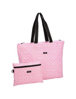 Tote Bag Plus 1 by Scout, Queen of the Tile