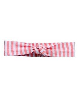 Headband Pink Striped Knotted Headband by Headbands of Hope