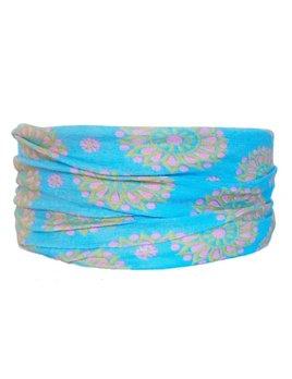 Headband Sky Flower Tube Turban by Headbands of Hope