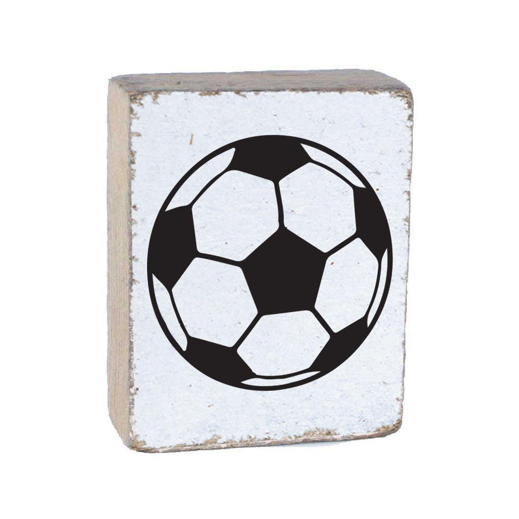 White Tumbling Block, Soccer Ball