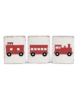 White Tumbling Blocks, Train Bundle
