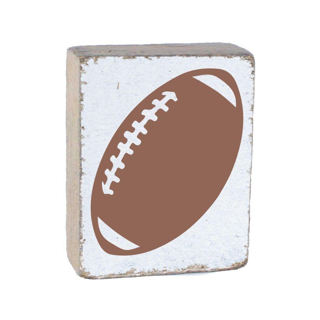 White Tumbling Block, Football