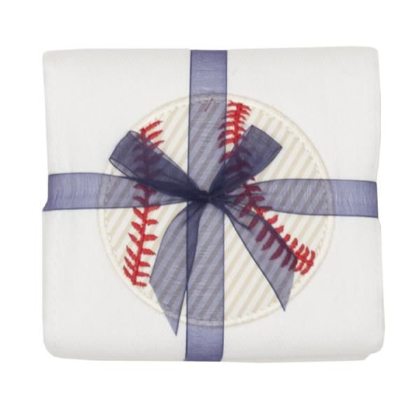 Burp Cloth Baseball Burpcloth