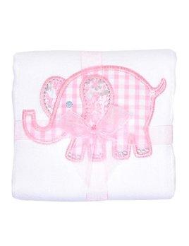Burp Cloth Pink Elephant Burp Cloth