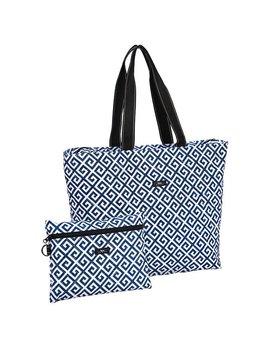 Tote Bag Plus 1 by Scout, Bid Day Blue