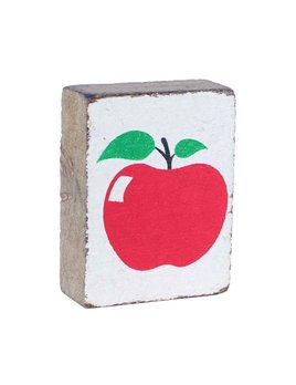 White Tumbling Block, Apple 2