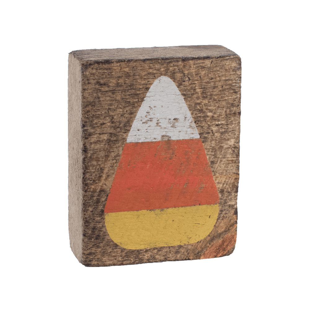 Natural Tumbling Block, Candy Corn