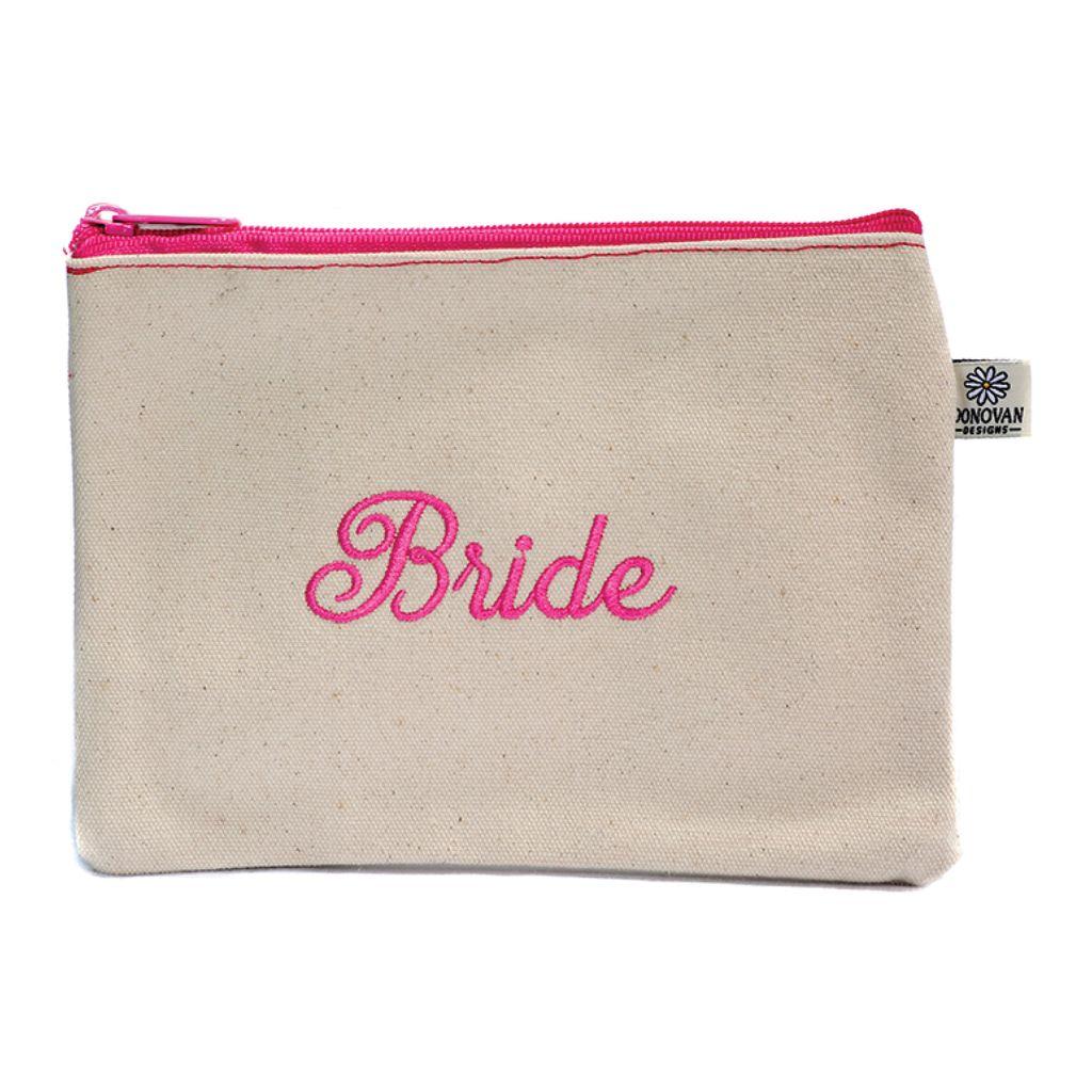 Cosmetic Bag Bride Bittie Bag