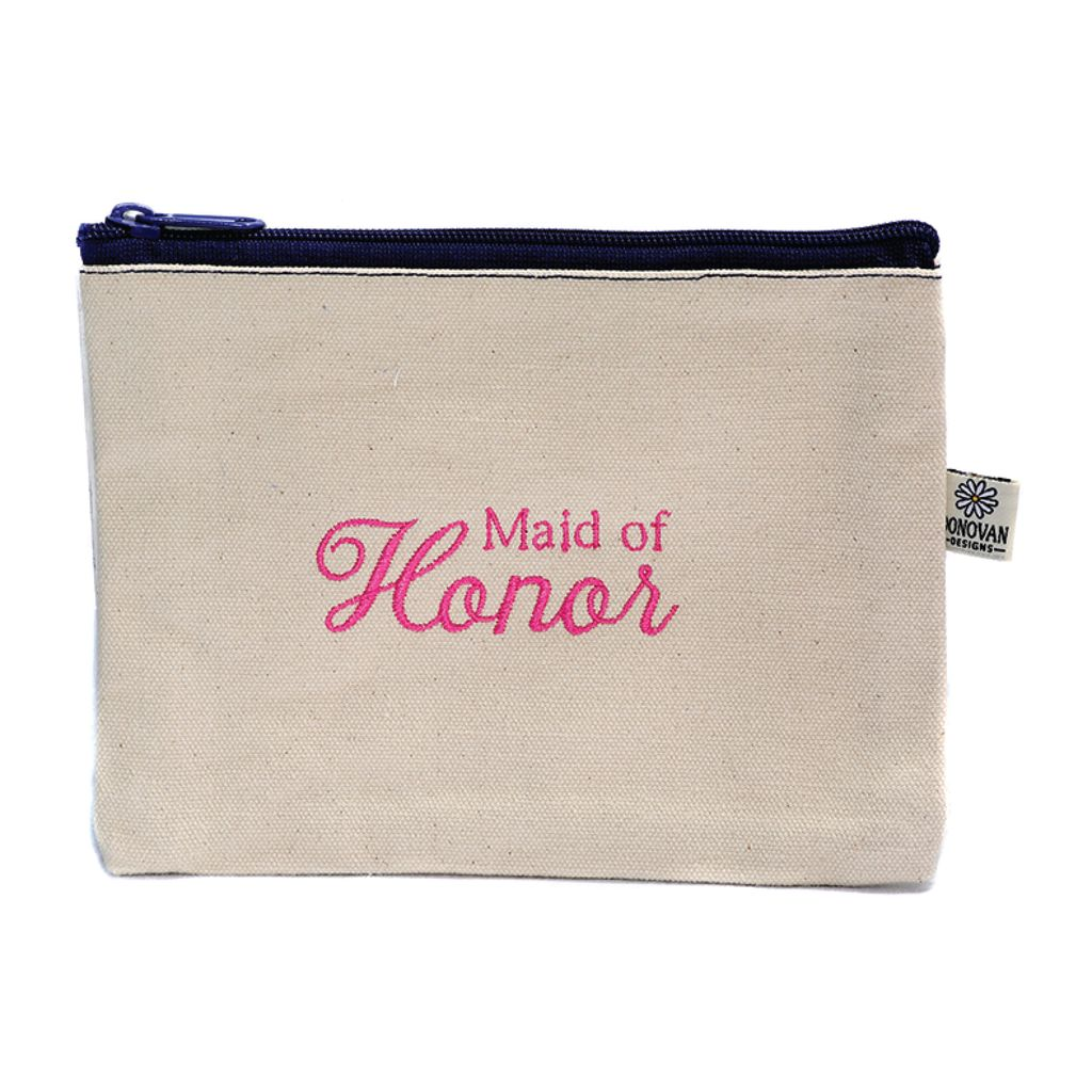 Cosmetic Bag Maid of Honor Bittie Bag