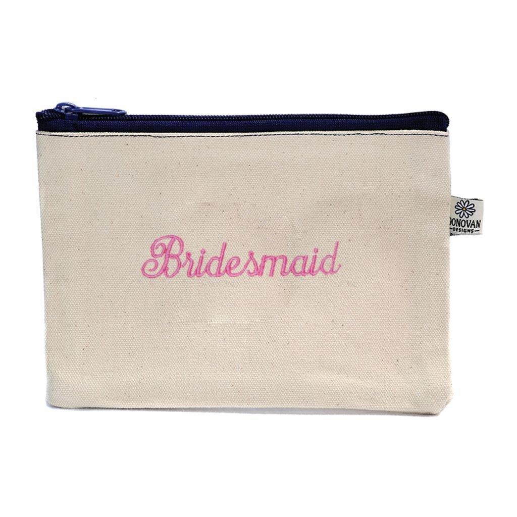 Cosmetic Bag Bridesmaid Bittie Bag