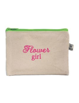 Cosmetic Bag Flower Girl Bittie Bag