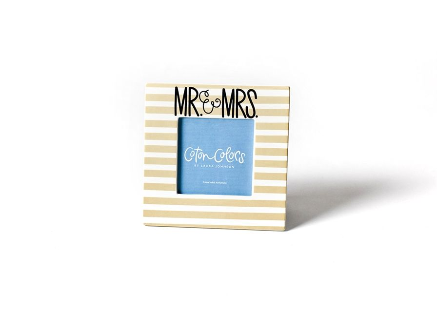 Frame Mr. & Mrs. Stripe Square Frame