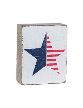 White Tumbling Block. American Star
