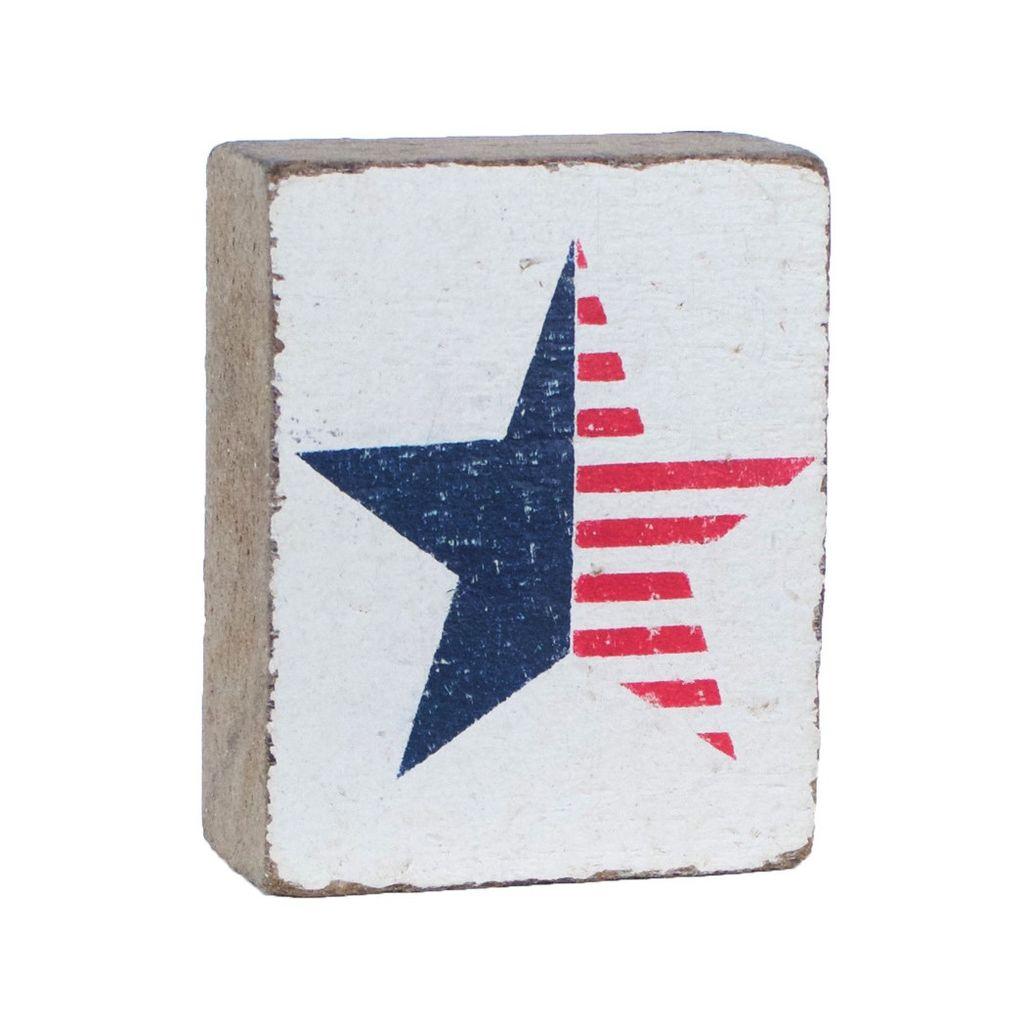 White Tumbling Block. American Star