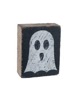 Black Tumbling Block, White Ghost