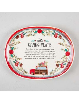 PLATE Holiday Giving Plate